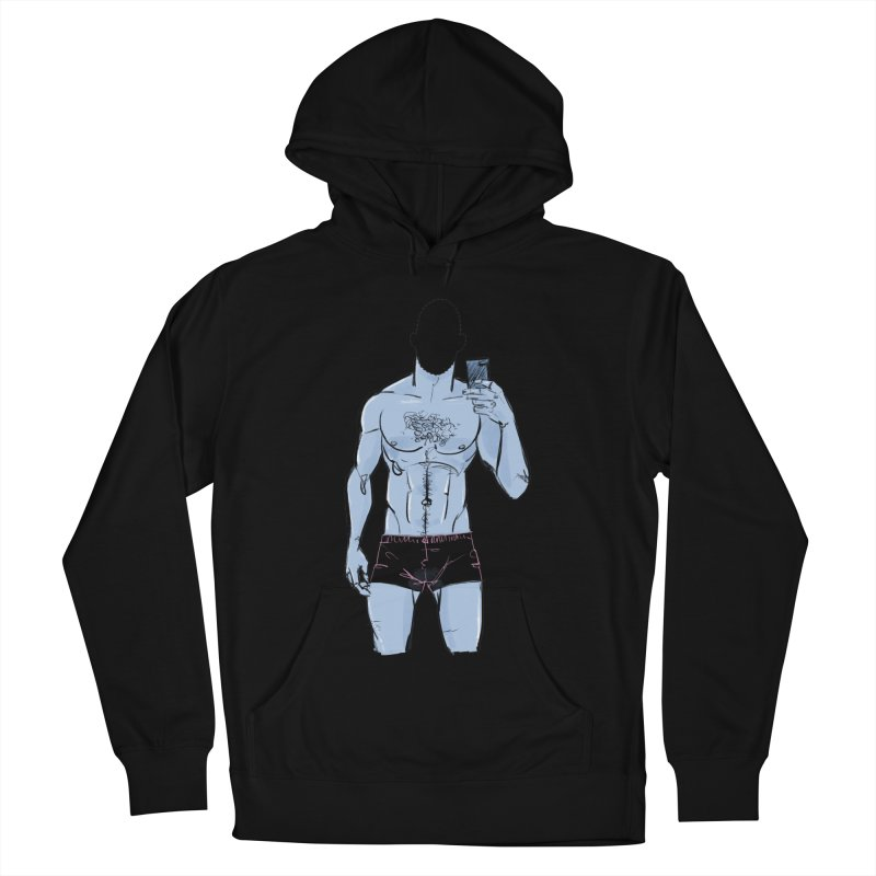 Template Men's French Terry Pullover Hoody by Ego Rodriguez
