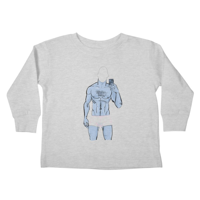 Template Kids Toddler Longsleeve T-Shirt by Ego Rodriguez