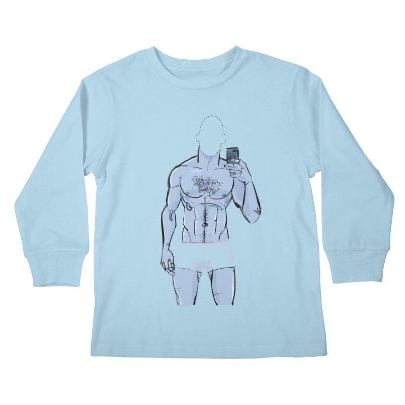 Template Kids Longsleeve T-Shirt by Ego Rodriguez