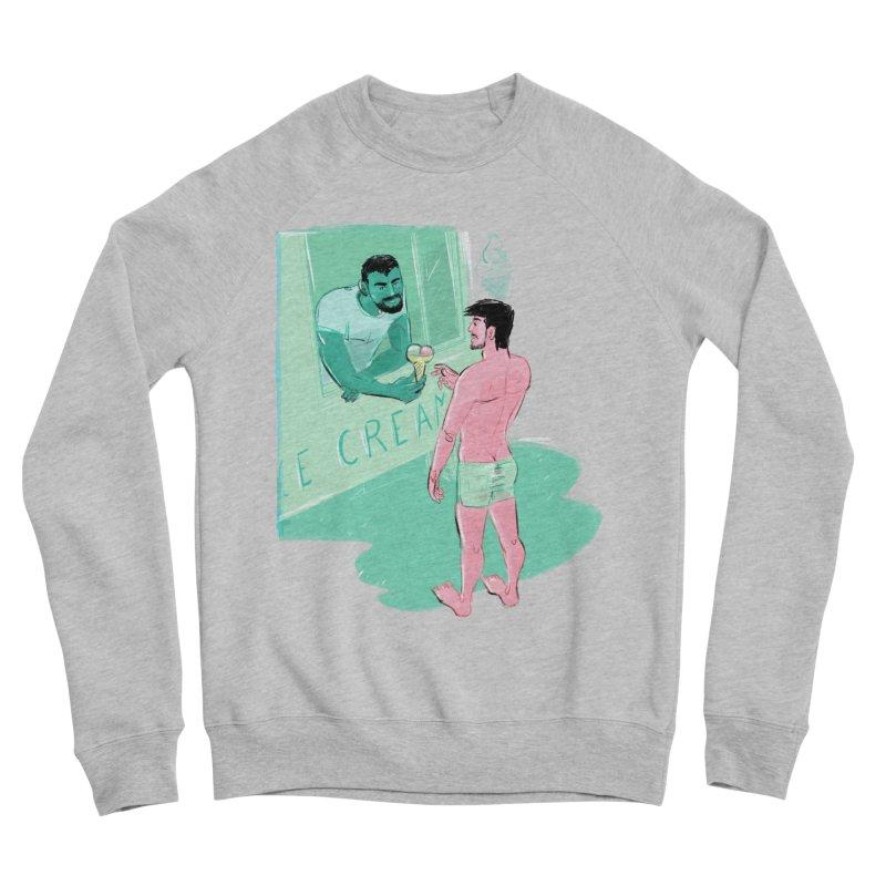 Ice Cream Men's Sponge Fleece Sweatshirt by Ego Rodriguez