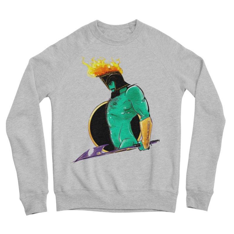 Ares Men's Sponge Fleece Sweatshirt by Ego Rodriguez