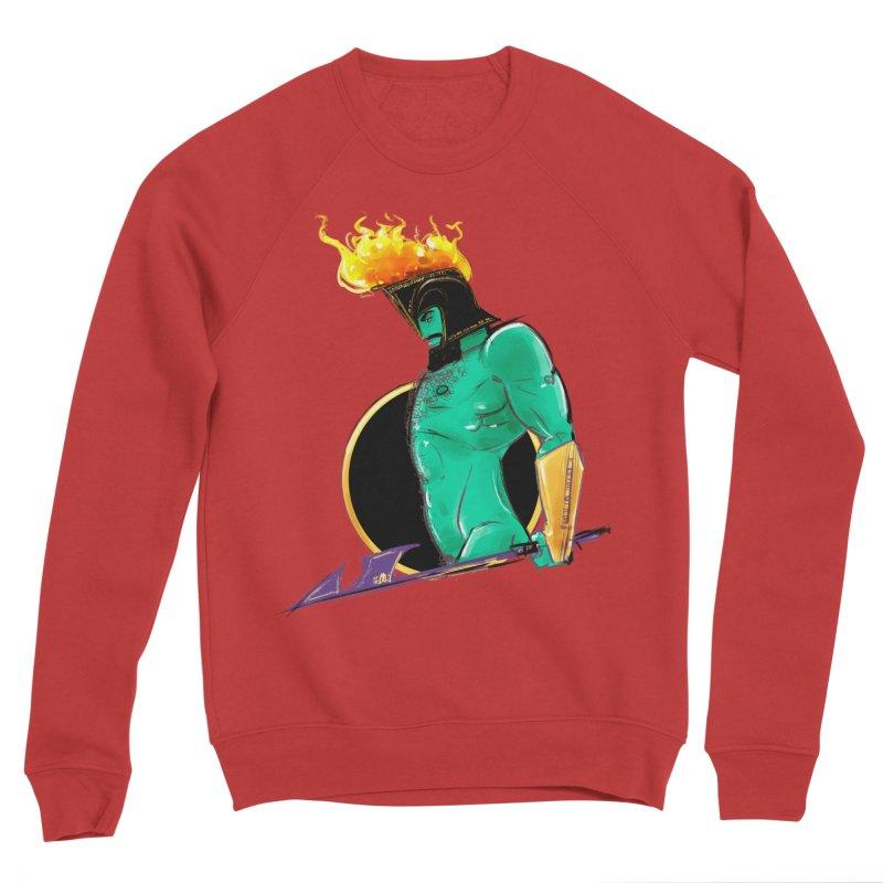 Ares Women's Sponge Fleece Sweatshirt by Ego Rodriguez