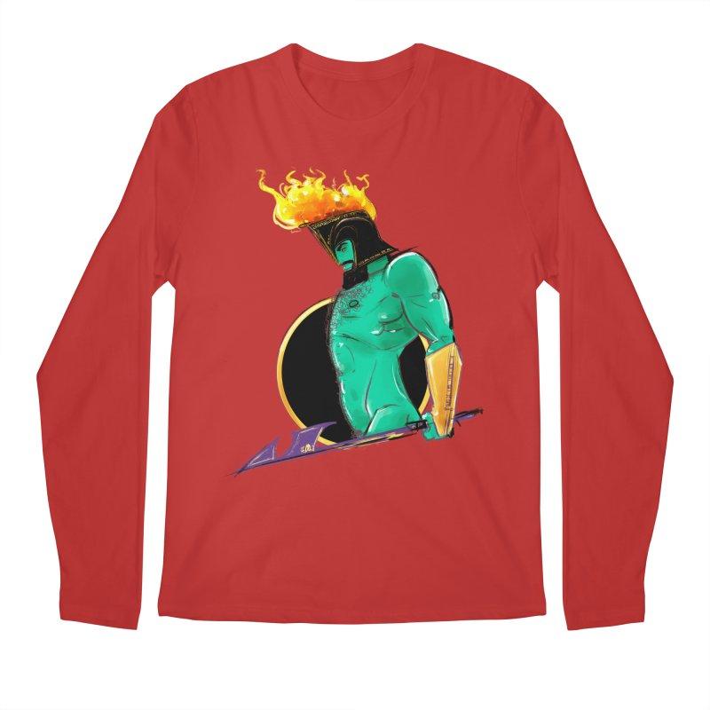 Ares Men's Regular Longsleeve T-Shirt by Ego Rodriguez