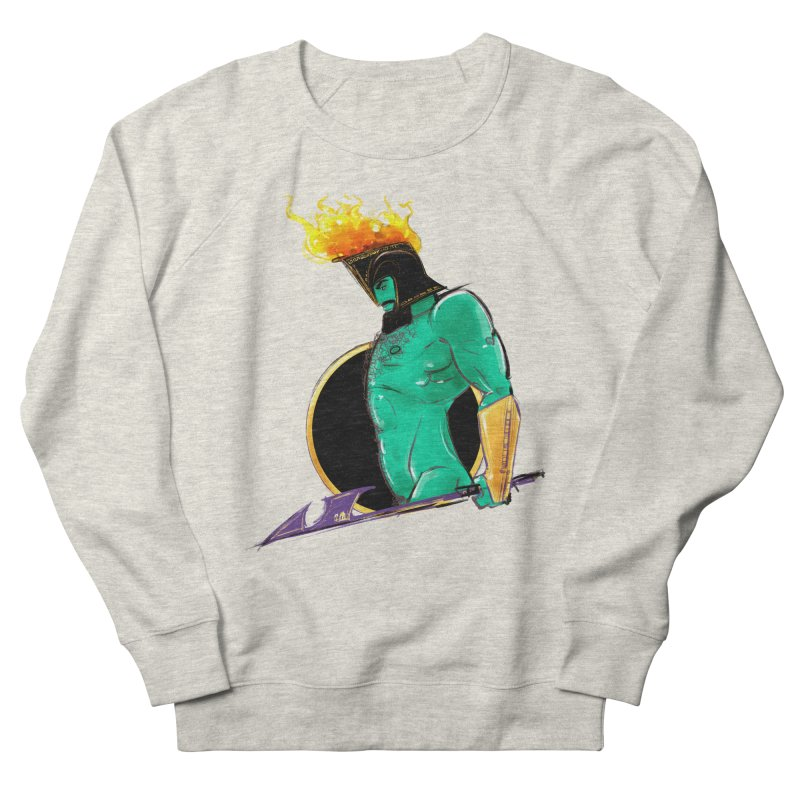 Ares Men's French Terry Sweatshirt by Ego Rodriguez