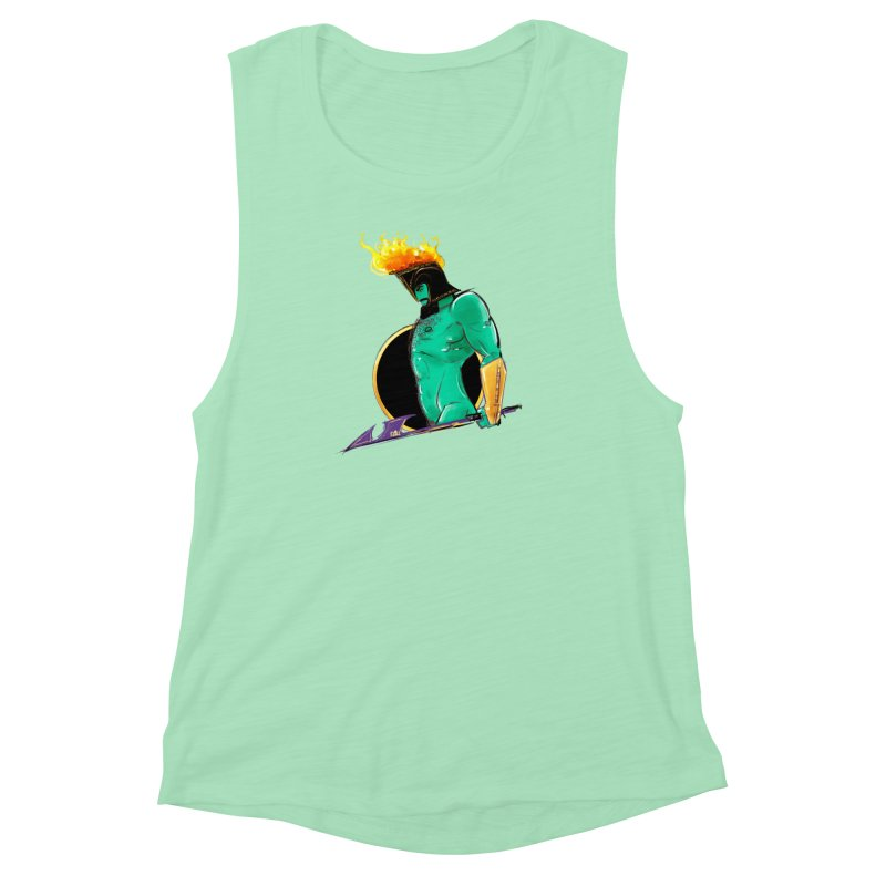 Ares Women's Muscle Tank by Ego Rodriguez