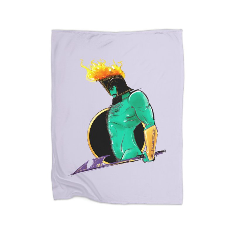 Ares Home Blanket by Ego Rodriguez