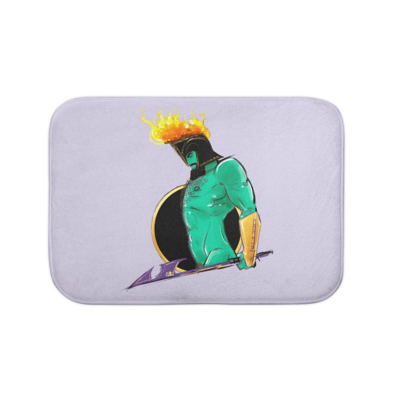 Ares Home Bath Mat by Ego Rodriguez