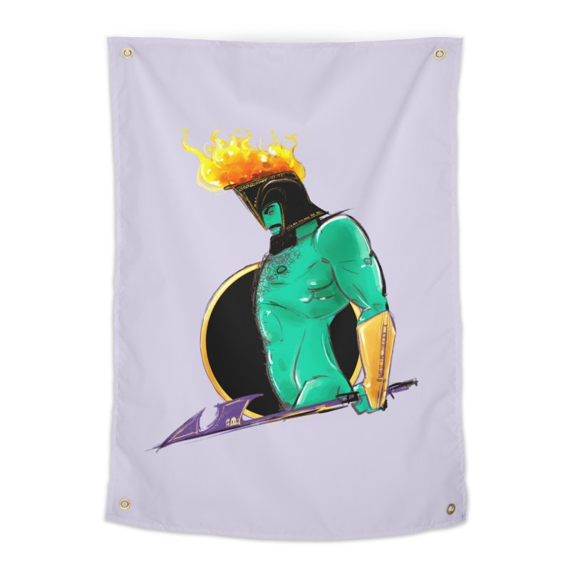 Ares Home Tapestry by Ego Rodriguez