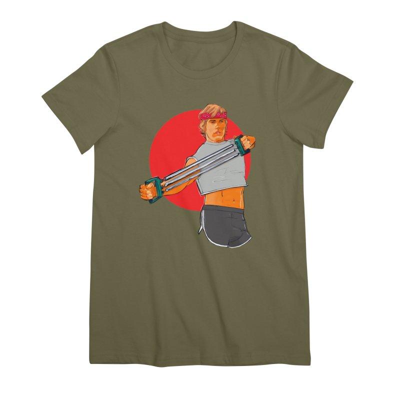 Brand Women's Premium T-Shirt by Ego Rodriguez