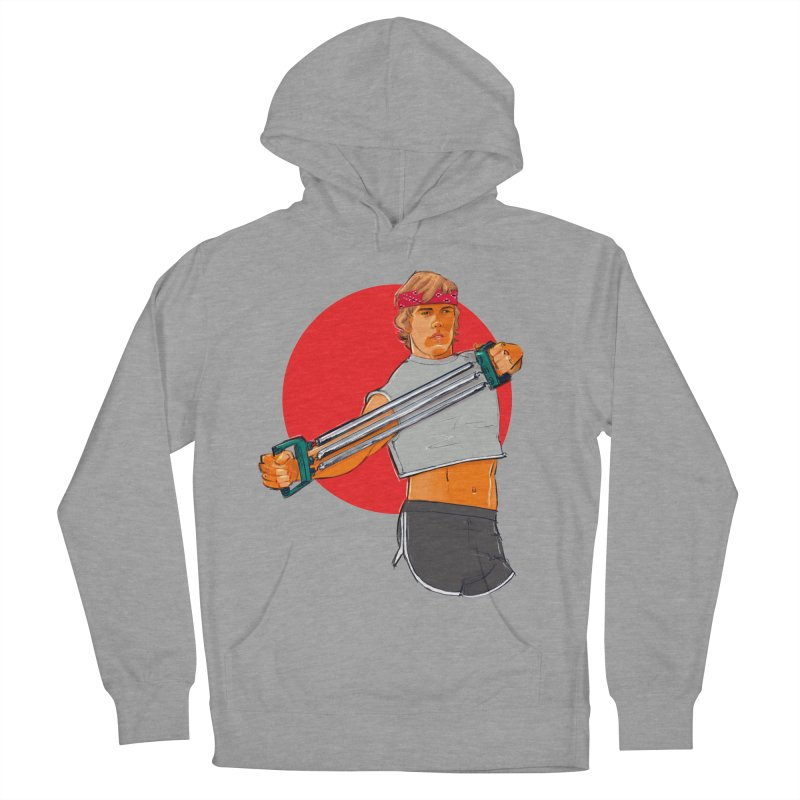 Brand Men's French Terry Pullover Hoody by Ego Rodriguez