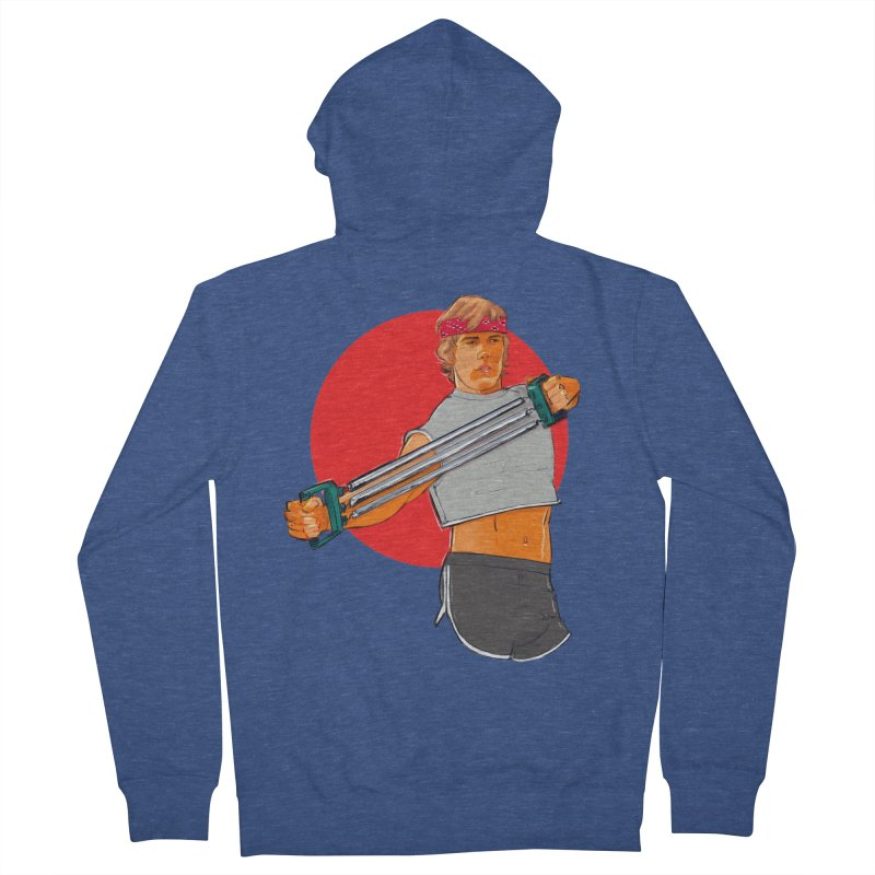 Brand Men's French Terry Zip-Up Hoody by Ego Rodriguez