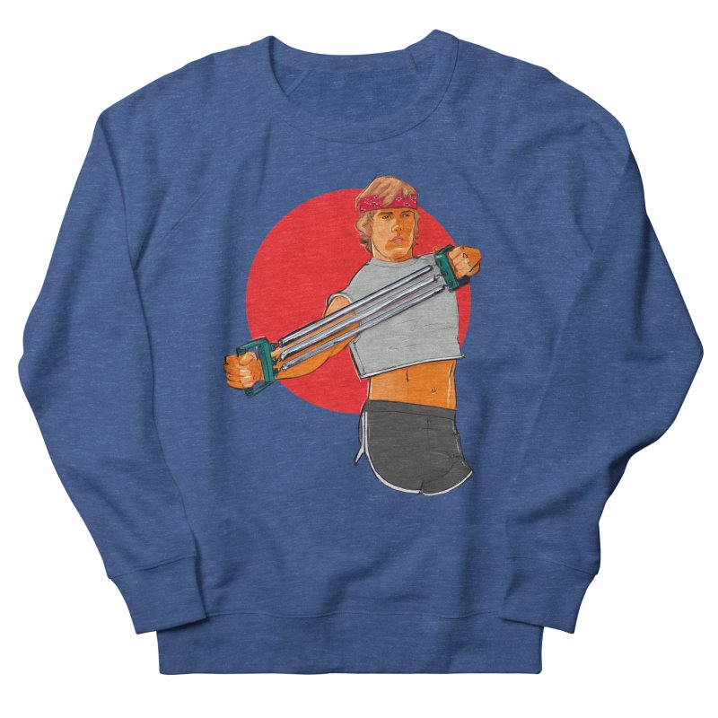 Brand Men's French Terry Sweatshirt by Ego Rodriguez