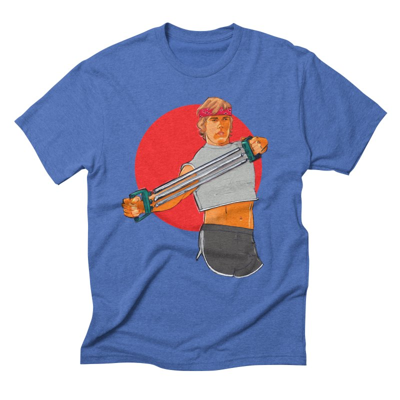 Brand Men's Triblend T-Shirt by Ego Rodriguez