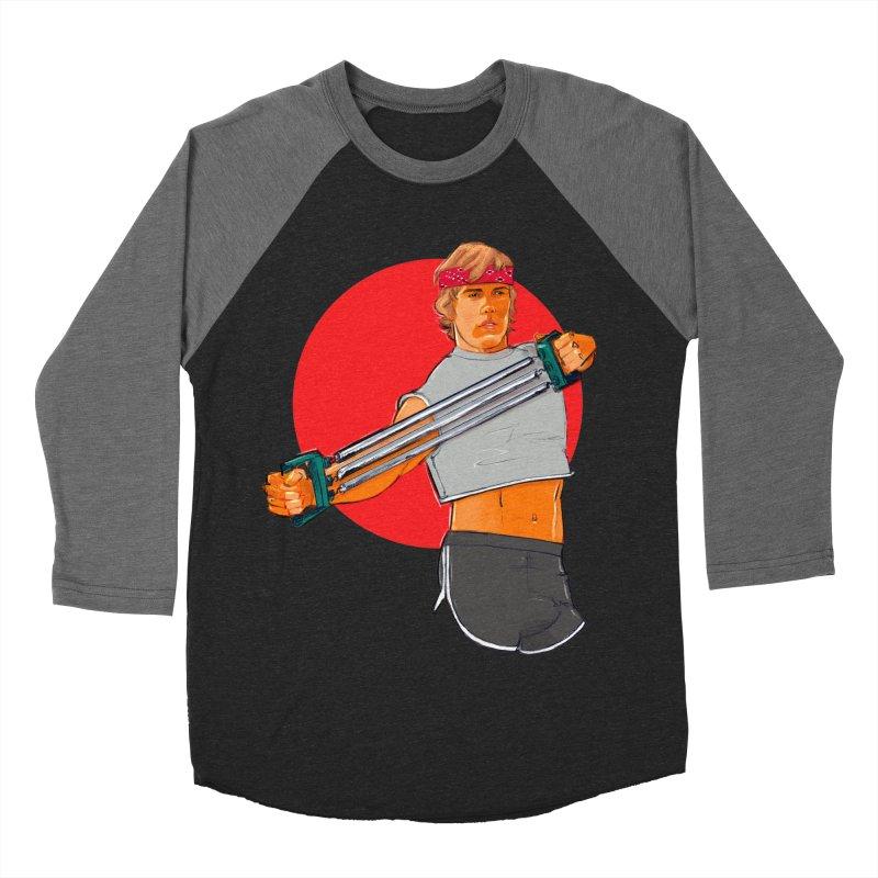 Brand Women's Baseball Triblend Longsleeve T-Shirt by Ego Rodriguez