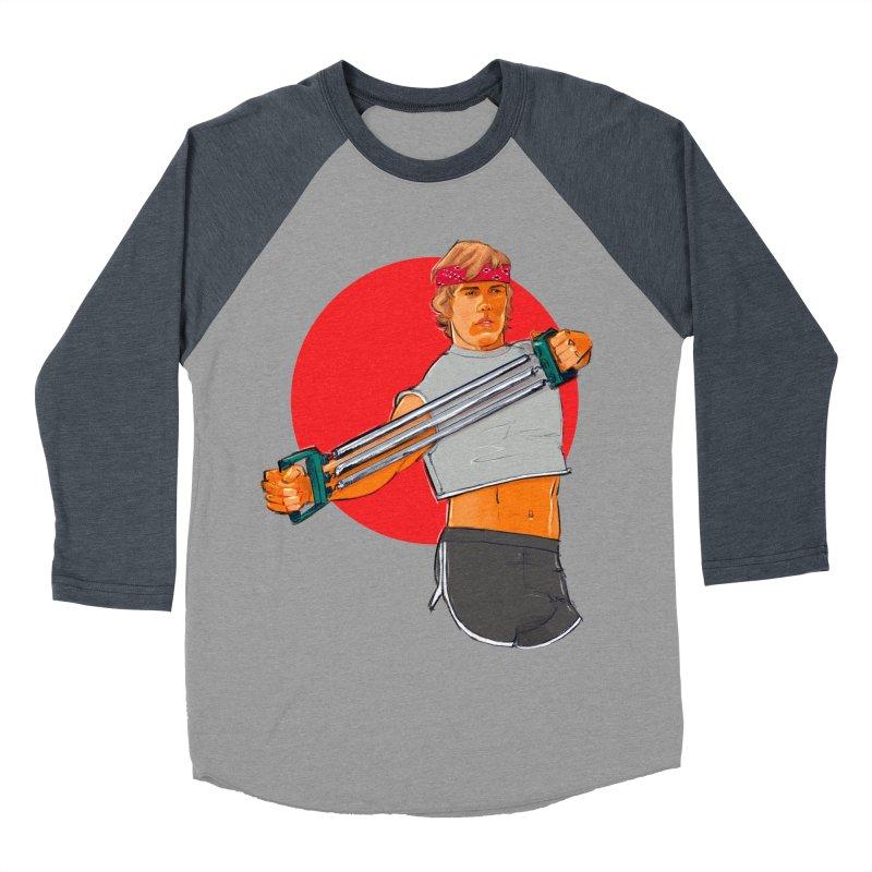 Brand Men's Baseball Triblend Longsleeve T-Shirt by Ego Rodriguez