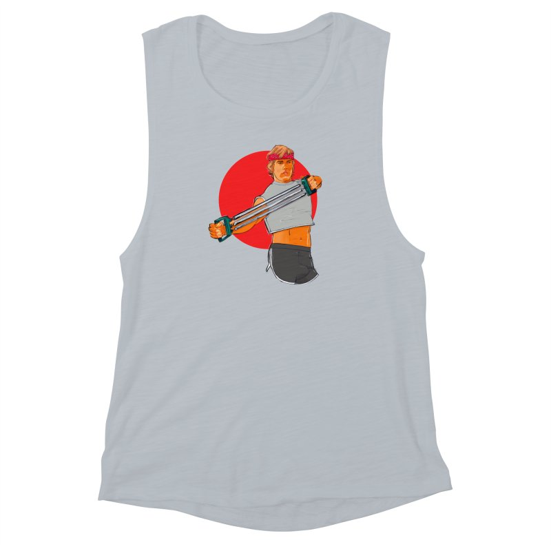 Brand Women's Muscle Tank by Ego Rodriguez