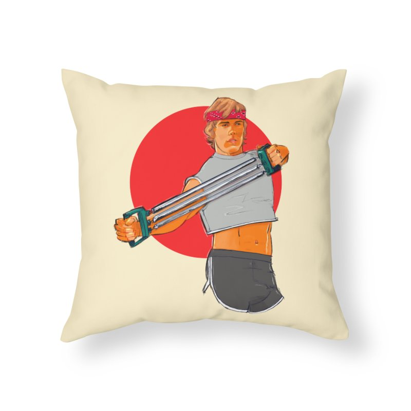 Brand Home Throw Pillow by Ego Rodriguez