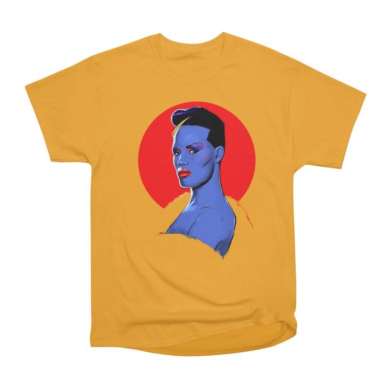 Grace Women's Heavyweight Unisex T-Shirt by Ego Rodriguez
