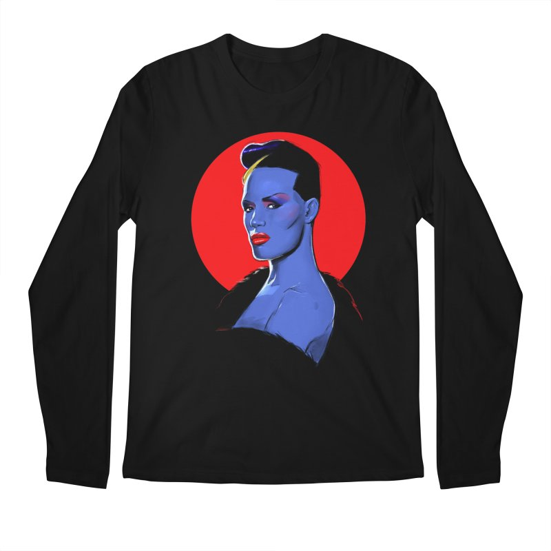 Grace Men's Regular Longsleeve T-Shirt by Ego Rodriguez