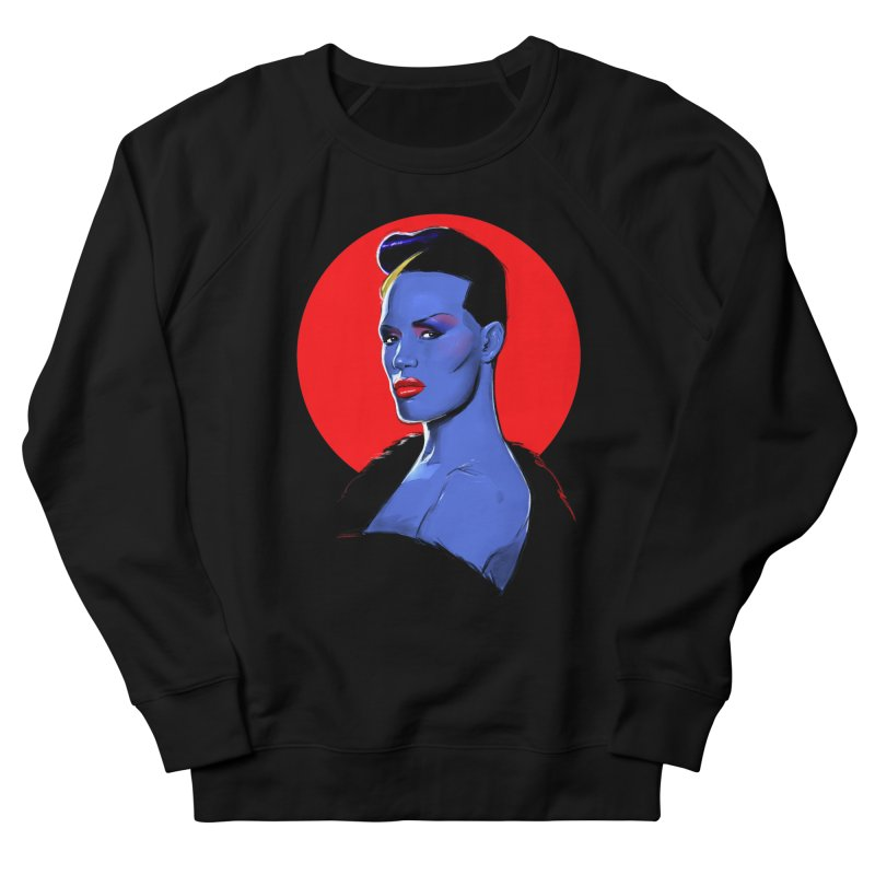Grace Men's French Terry Sweatshirt by Ego Rodriguez