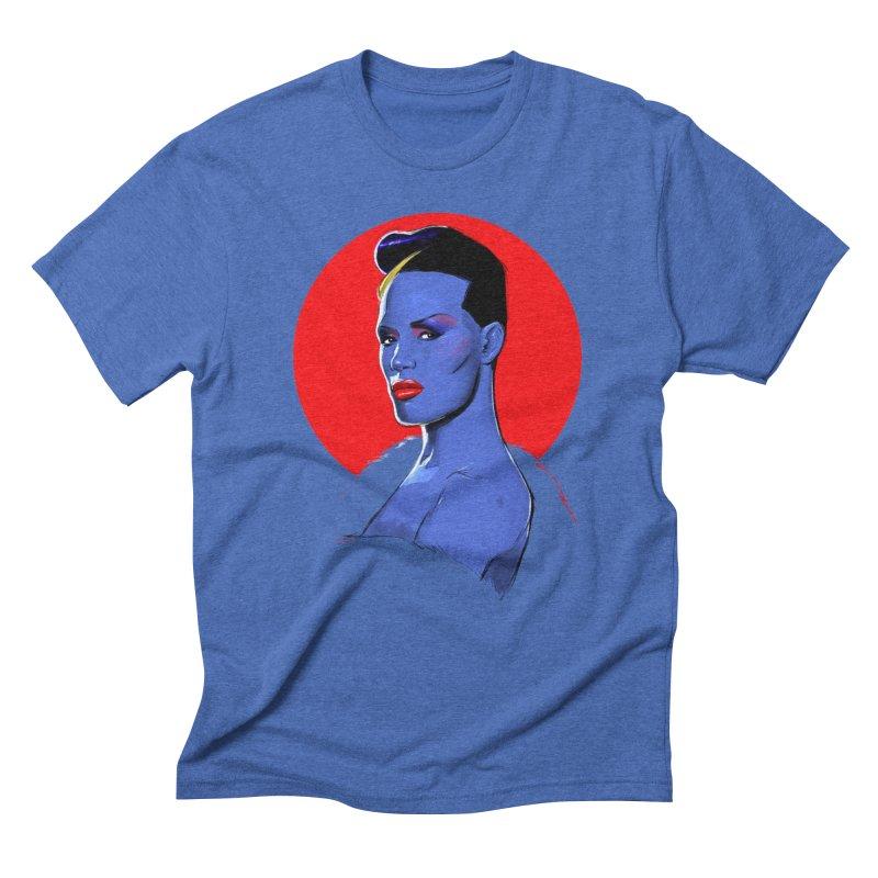 Grace Men's Triblend T-Shirt by Ego Rodriguez