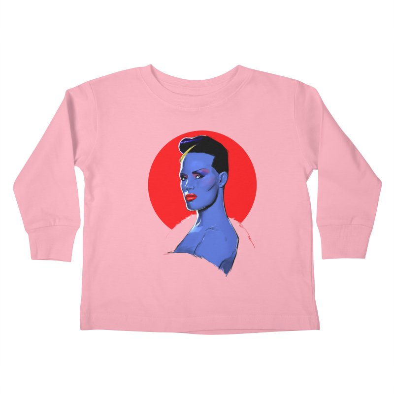 Grace Kids Toddler Longsleeve T-Shirt by Ego Rodriguez