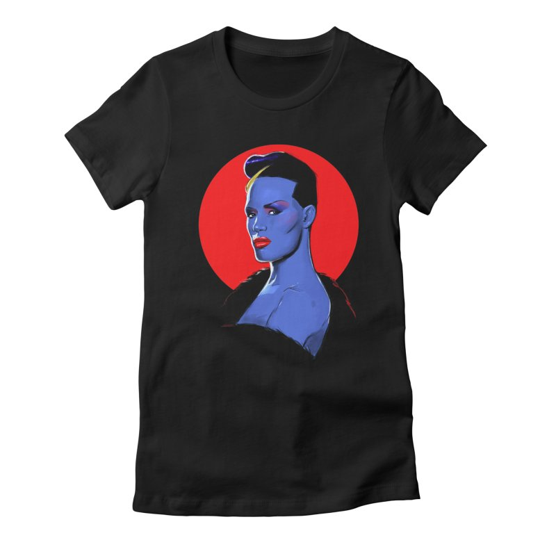 Grace Women's Fitted T-Shirt by Ego Rodriguez