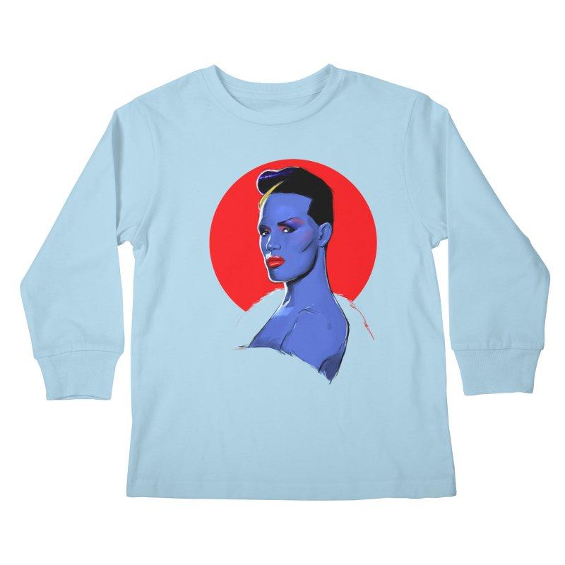 Grace Kids Longsleeve T-Shirt by Ego Rodriguez