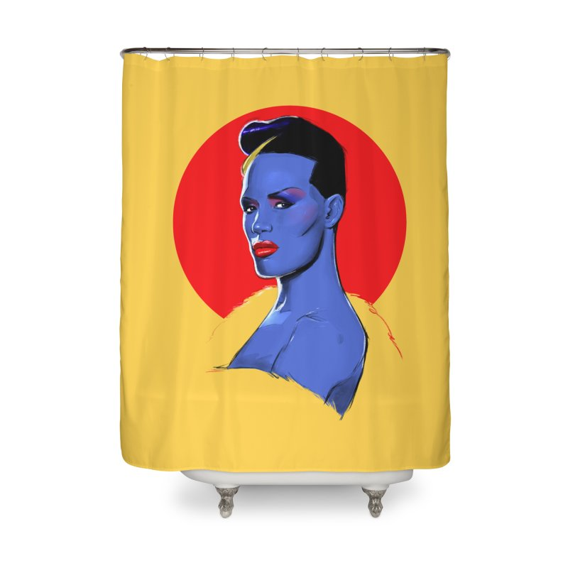 Grace Home Shower Curtain by Ego Rodriguez