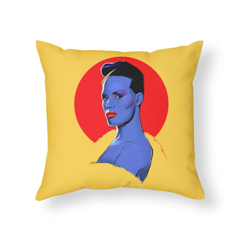 Grace Home Throw Pillow by Ego Rodriguez