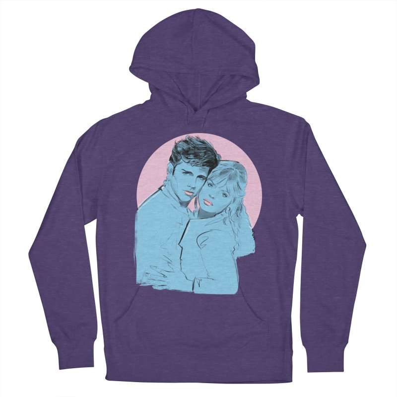 Grease 2 Men's French Terry Pullover Hoody by Ego Rodriguez