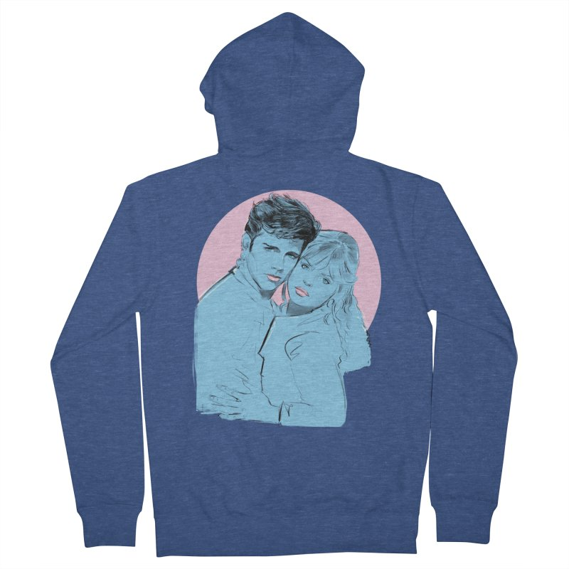 Grease 2 Women's French Terry Zip-Up Hoody by Ego Rodriguez
