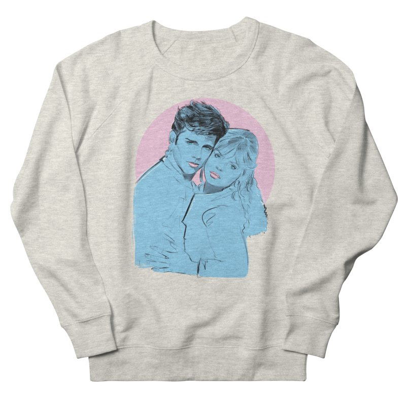 Grease 2 Women's French Terry Sweatshirt by Ego Rodriguez