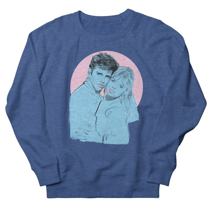 Grease 2 Men's French Terry Sweatshirt by Ego Rodriguez