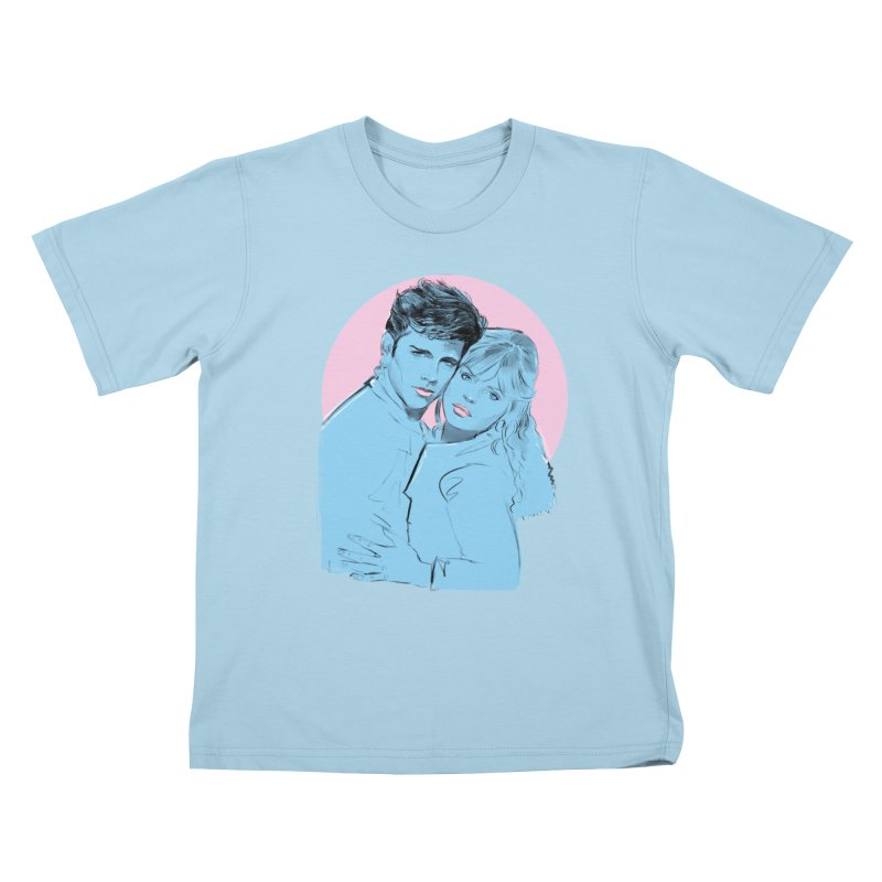 Grease 2 Kids T-Shirt by Ego Rodriguez