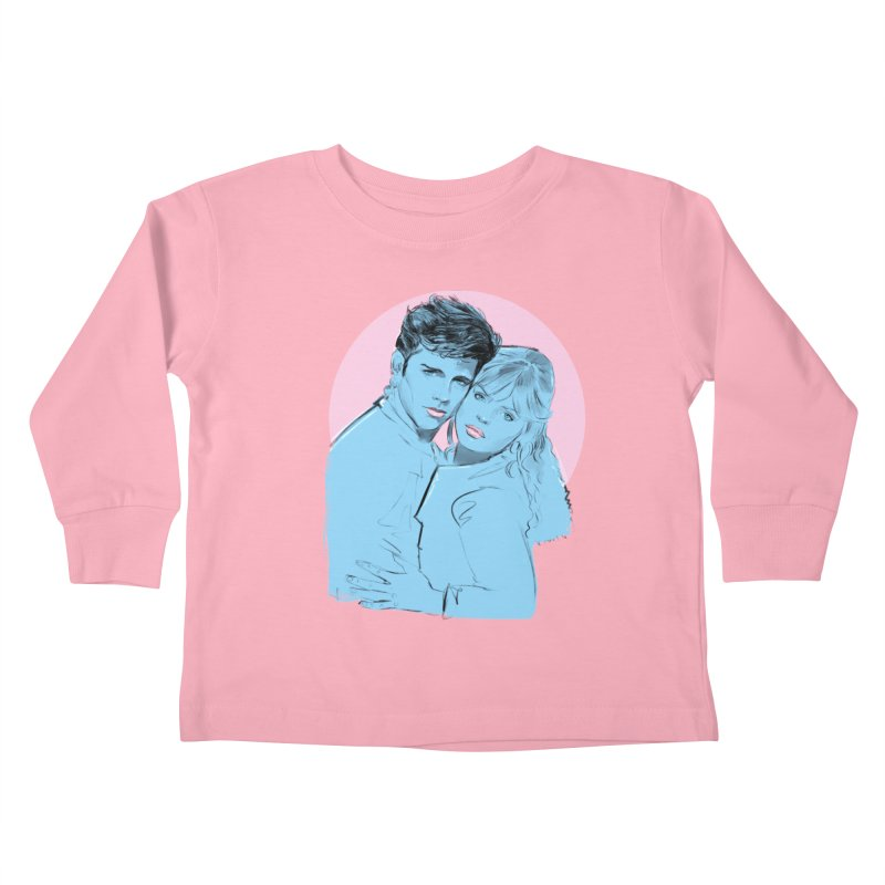 Grease 2 Kids Toddler Longsleeve T-Shirt by Ego Rodriguez