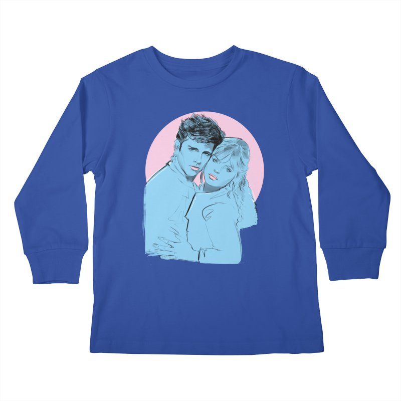 Grease 2 Kids Longsleeve T-Shirt by Ego Rodriguez