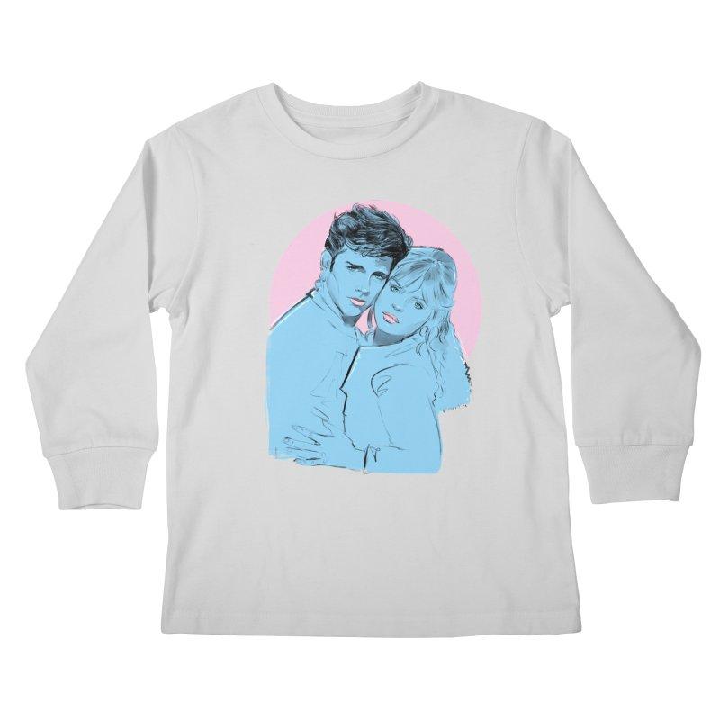 Grease 2 Kids Longsleeve T-Shirt by Ego Rodriguez