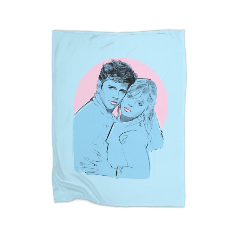 Grease 2 Home Blanket by Ego Rodriguez