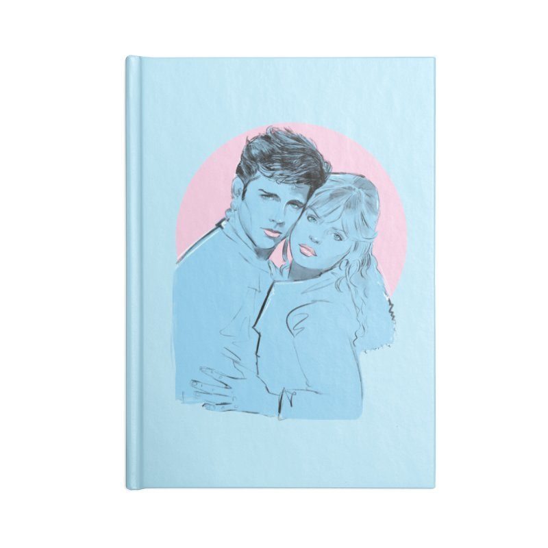 Grease 2 Accessories Notebook by Ego Rodriguez