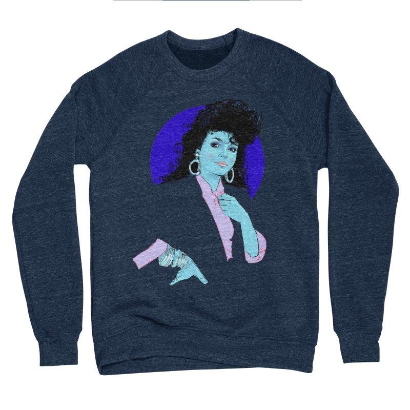 Janet Women's Sponge Fleece Sweatshirt by Ego Rodriguez