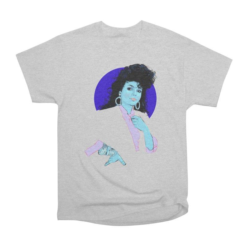 Janet Men's Heavyweight T-Shirt by Ego Rodriguez