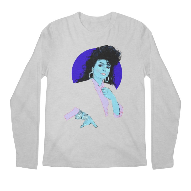 Janet Men's Regular Longsleeve T-Shirt by Ego Rodriguez