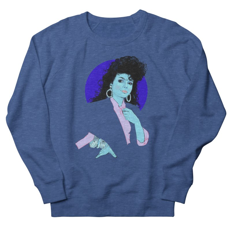 Janet Women's French Terry Sweatshirt by Ego Rodriguez