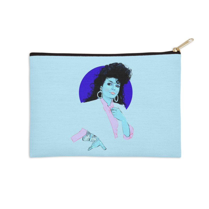 Janet Accessories Zip Pouch by Ego Rodriguez