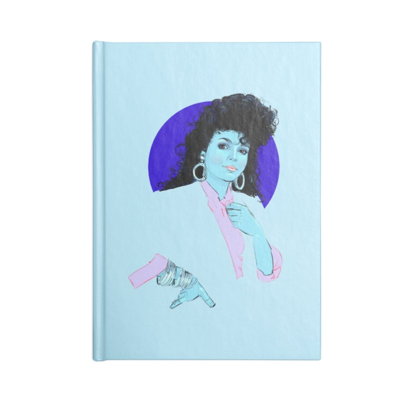 Janet Accessories Notebook by Ego Rodriguez