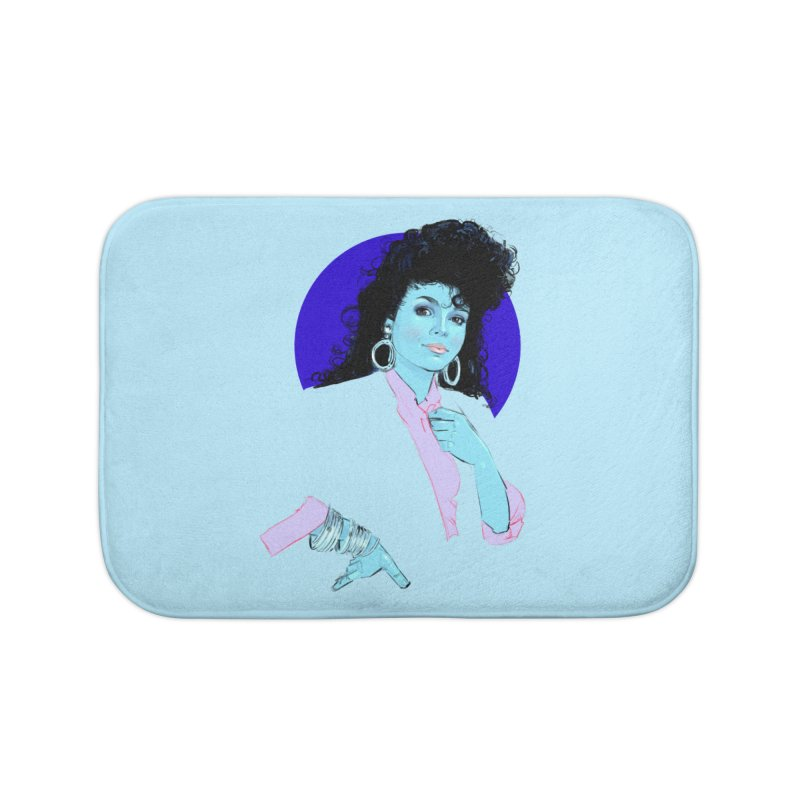 Janet Home Bath Mat by Ego Rodriguez