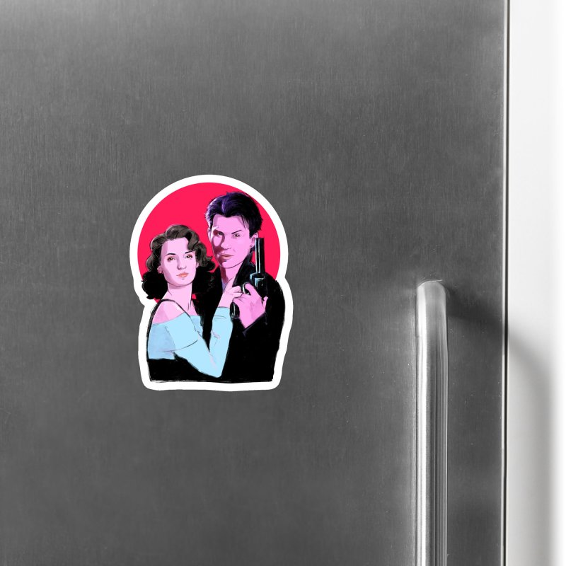 Veronica & JD Accessories Magnet by Ego Rodriguez