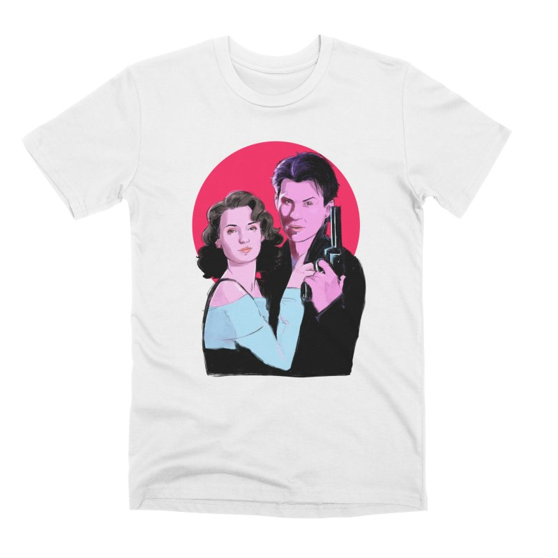 Veronica & JD Men's T-Shirt by Ego Rodriguez