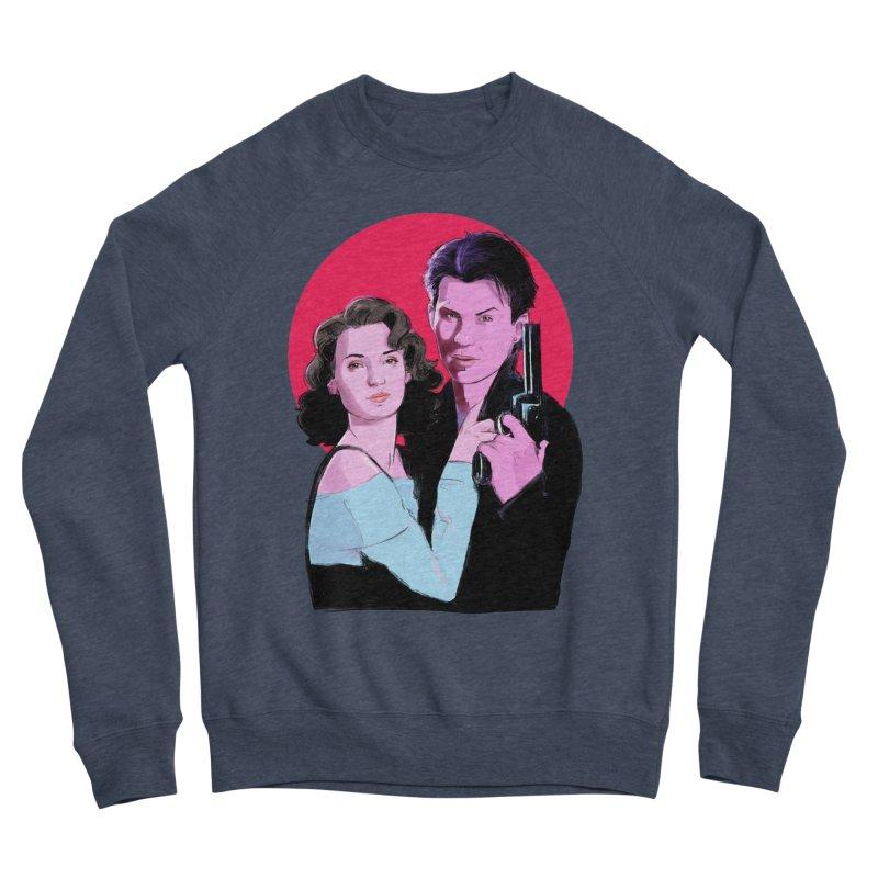 Veronica & JD Women's Sponge Fleece Sweatshirt by Ego Rodriguez